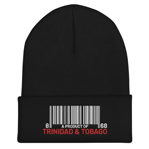 A Product of Trinidad and Tobago Cuffed Beanie - Trini Jungle Juice Store