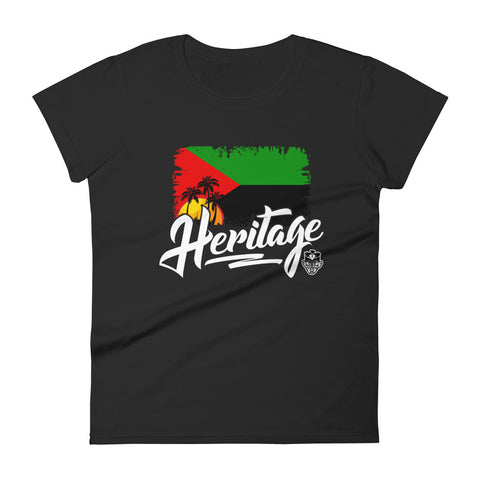 Heritage - Martinique Women's Short Sleeve T-Shirt (Black)