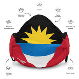 REPRESENT - Antigua and Barbuda Premium Face Mask - Trini Jungle Juice Store