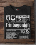 A Product of Trinidad and Tobago - Trinbagonian Unisex T-Shirt (White Print) - Trini Jungle Juice Store