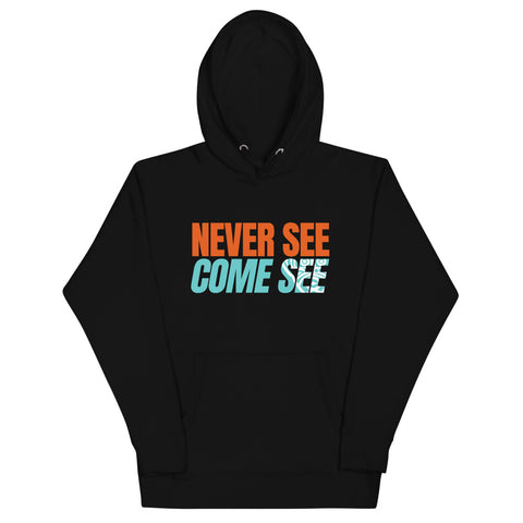 Caribbean Sayings - Never See Come See Unisex Premium Hoodie