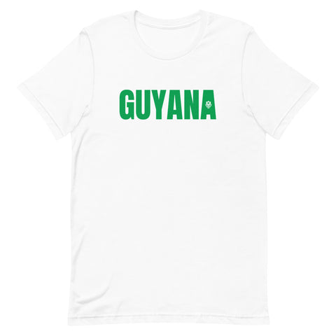 LOCAL - Guyana Unisex T-Shirt (Green Print)