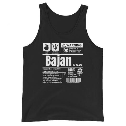A Product of Barbados - Bajan Unisex Tank Top