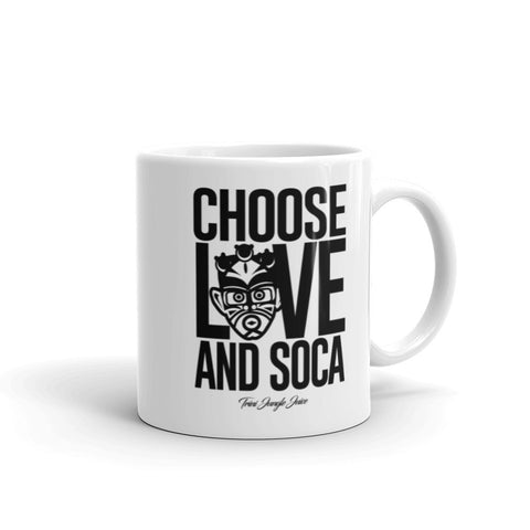 Choose LOVE and SOCA Mug (White)