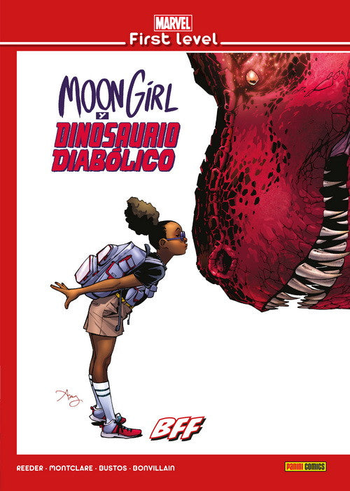 Marvel First Level: Moon Girl y Dinosaurio Diabólico, BFF