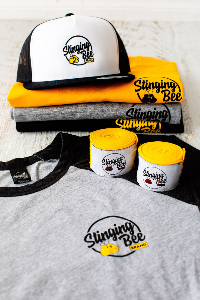 Stinging Bee Brand Trucker Cap