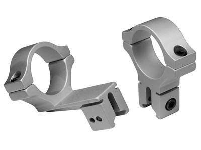 "BKL 30mm Rings, 3/8"" or 11mm Dovetail, Offset, Silver - Mile High AirGuns"