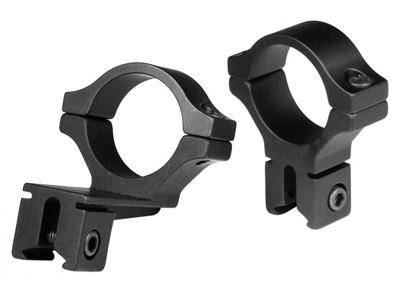"BKL 30mm Rings, 3/8"" or 11mm Dovetail, Offset, Black - Mile High AirGuns"