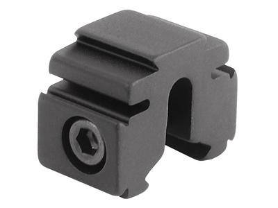 "BKL Single 3/8"" or 11mm Tri-Mount Dovetail Riser Mount, 0.60"" Long, Black - Mile High AirGuns"