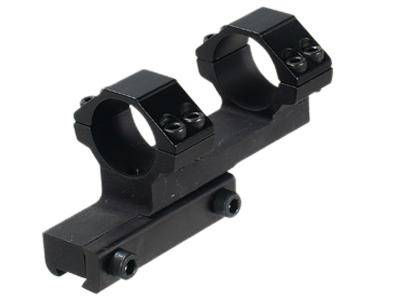 "CenterPoint 1-Pc Off-Set Mount, 1"" Rings, High, 3/8"" Dovetail, 4 Screws/Cap - Mile High AirGuns"