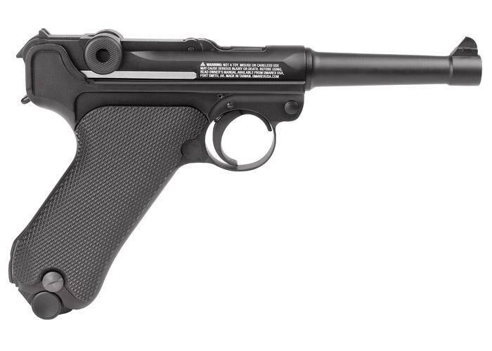 Legends Blowback P08 CO2 Pistol, Full Metal - Mile High AirGuns