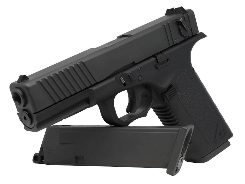 Barra 009 Full Auto Blowback CO2 BB Pistol - Mile High AirGuns