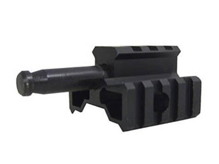 TSD SD96 Metal Bipod Adapter Tri-Rail Mount - Mile High AirGuns