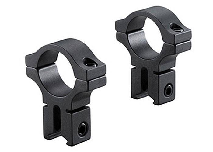 "BKL 30mm Rings, 3/8"" or 11mm Dovetail, Matte Black - Mile High AirGuns"