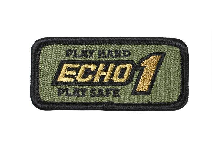 Echo1 Square Patch, OD Green - Mile High AirGuns