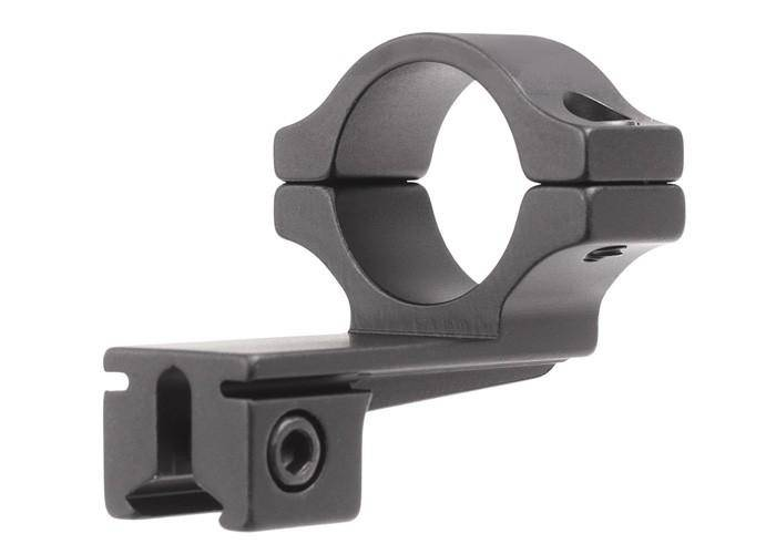 "BKL Single 1"" Offset Ring, 3/8"" or 11mm Dovetail, 0.60"" Long, Black - Mile High AirGuns"