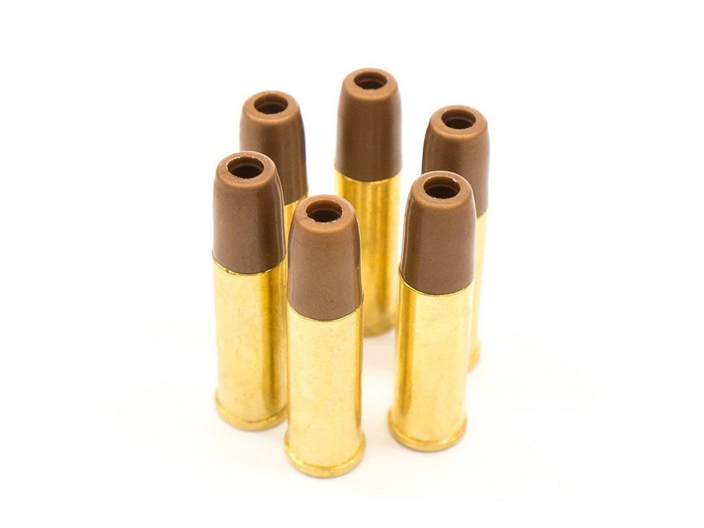 Black Ops/WinGun Airsoft Revolver Shells, 6mm, 6ct - Mile High AirGuns