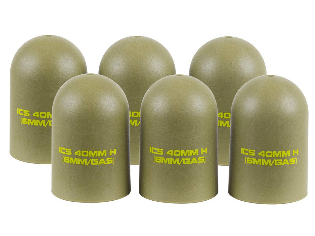 ICS MA-166, Light Weight Grenade Shell Caps - Mile High AirGuns