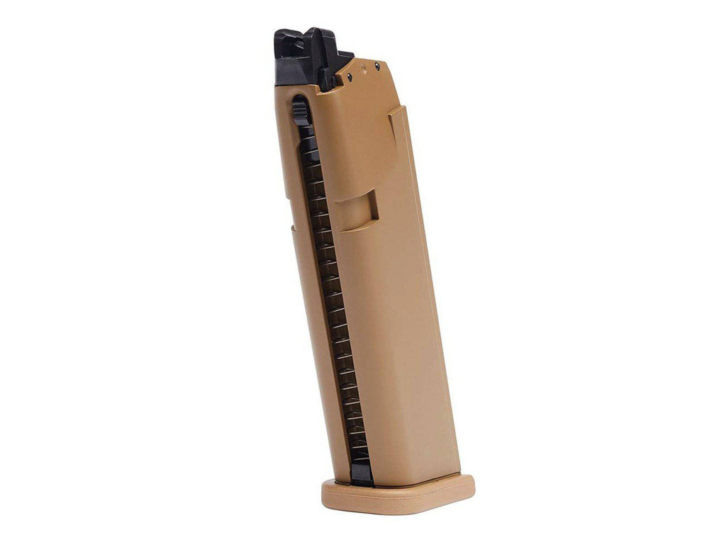 Glock G19X Airsoft GBB 20rd Pistols Magazine, Tan - Mile High AirGuns