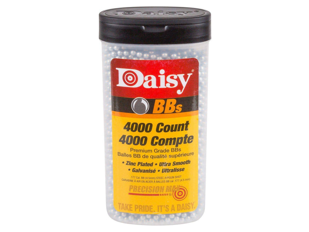 Daisy Premium Grade .177 Cal, 5.1 Grains, Zinc Plated BBs, 4000ct - Mile High AirGuns