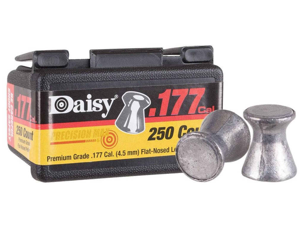 Daisy Precision Max .177 Cal, 7.5 Grains, Flat-Nosed, 250ct - Mile High AirGuns