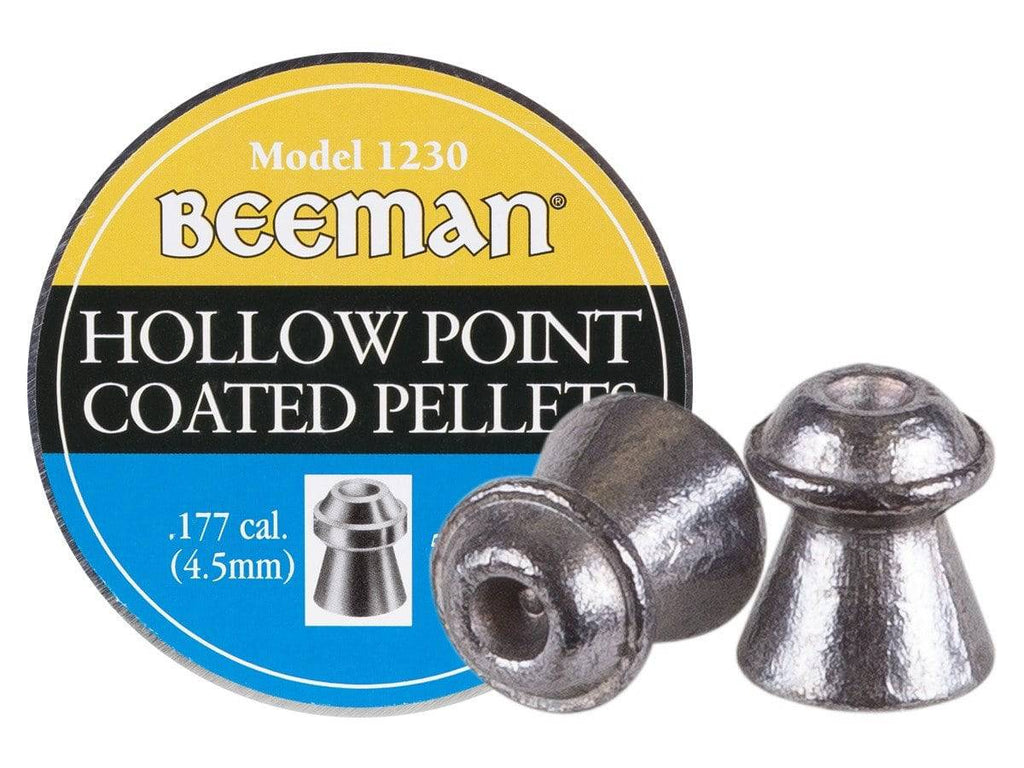 Beeman .177 Cal, 7.2 Grains, Hollowpoint, Coated, 500ct - Mile High AirGuns