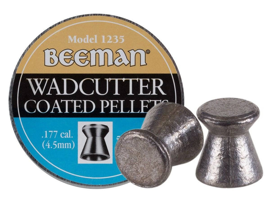 Beeman .177 Cal, 7.7 Grains, Wadcutter, Coated, 500ct - Mile High AirGuns