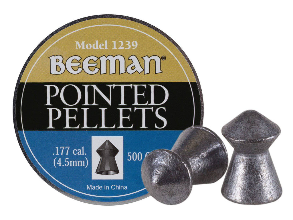 Beeman .177 Cal, 8.53 Grains, Pointed, 500ct - Mile High AirGuns