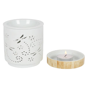 Dragonfly Matte Ceramic Burner