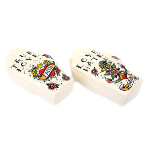 Palmistry Tattoo Trinket Box