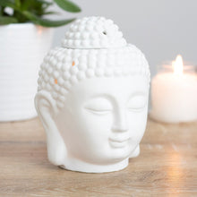 Load image into Gallery viewer, White Buddha Head Burner