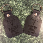 Scattered Hamlet Engraved Dog Tags + Chains