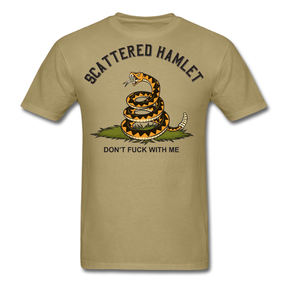 Color Don't Fuck With Me T-Shirt - khaki