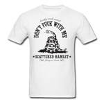 Classic Don't Fuck With Me T-Shirt - white