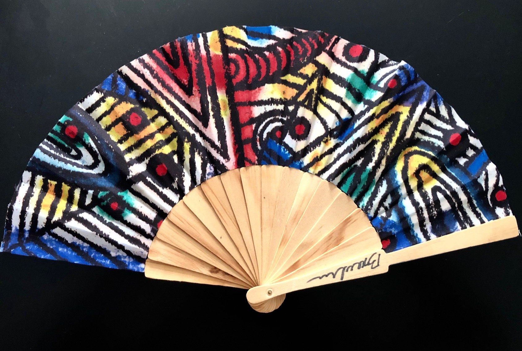 Abstract fan - sohogalleries