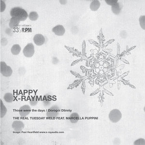 'Happy X-Ray Xmas' Greetings Card + Vinyl Record