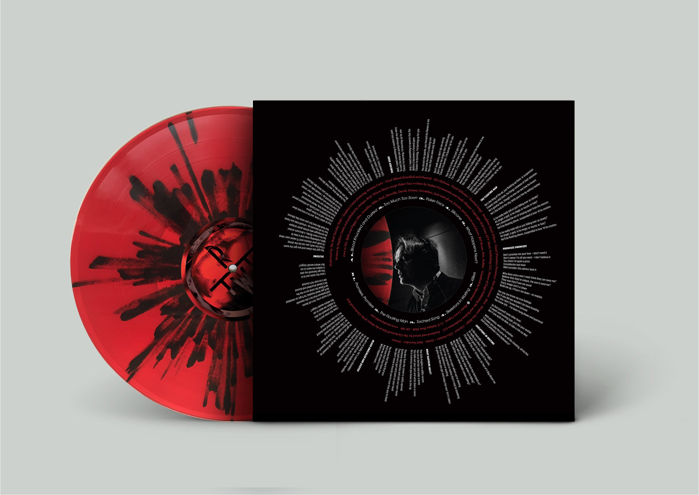 "BLOOD - Limited Edition 12"" Vinyl Album - Currently Sold Out"