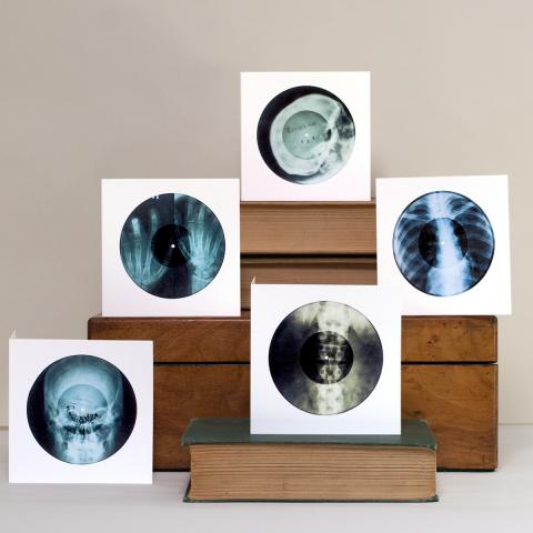 X-Ray Audio Greetings Cards - On Sale For Christmas!