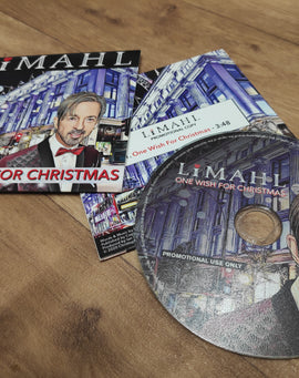 Limahl 'OWFC Personalised Signed' Promotional CD