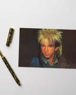 Limahl 'Only For Love' Postcard