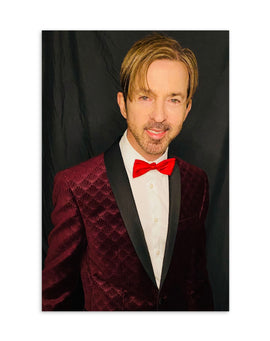 Limahl 'Red Tie' Postcard