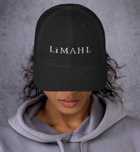 Limahl Classic Embroidered Logo Trucker Cap