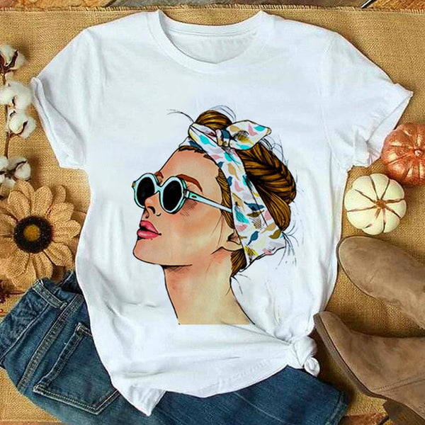 Short Sleeve Graphic Print Tee