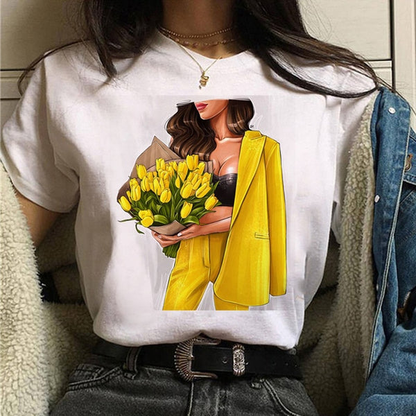 Graphic 90s Girls Tee