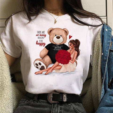 Cute Graphic 90s Girls Tee