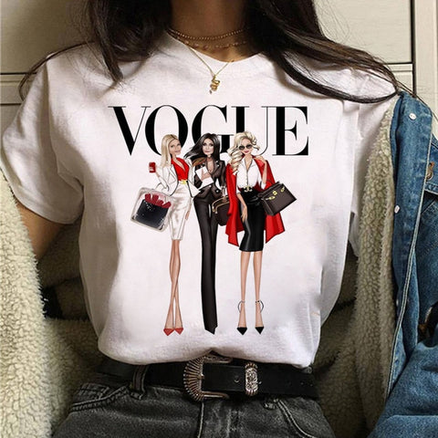 Vogue Graphic 90s Girls Tee