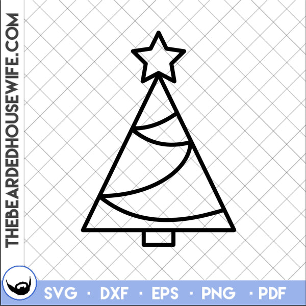 holiday line art bundle