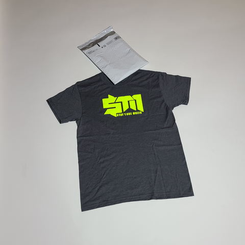 "Dark Grey ""StayTrueMuzik"" Shirt"