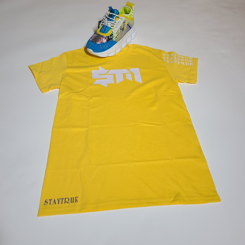 "Yellow ""StayTrue"" Shirt"