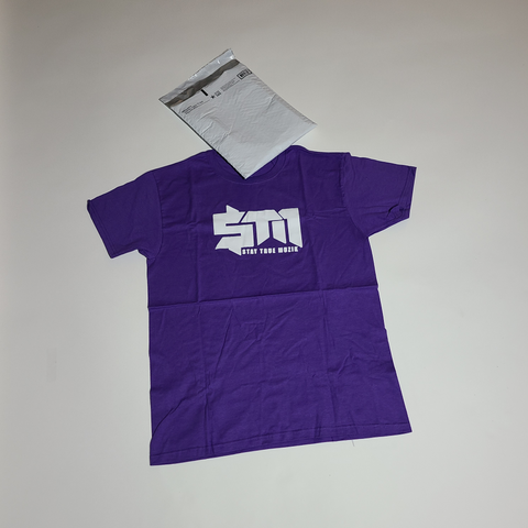 "Purple  Unisex ""StayTrueMuzik"" Shirt"
